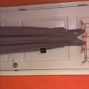 Lulus Taupe Maxi Dress